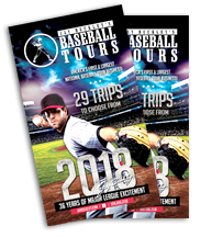 Jay Buckley's Baseball Tours Brochure