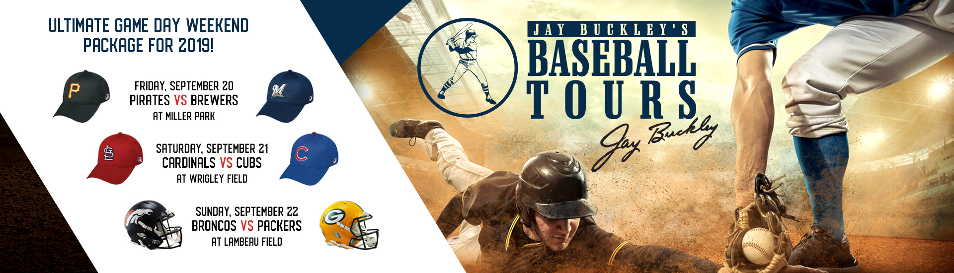 Jay Buckley Baseball Tours